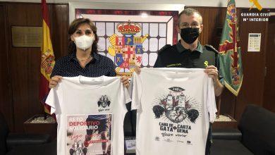 """Photo of La Guardia Civil apoyará el reto deportivo solidario """"Elije Vivir"""" que realiza la Asociación de enfermedades raras D´Genes"""
